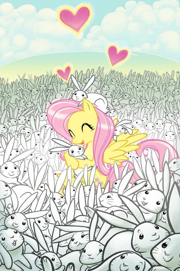 Fluttershy's Bunny Heaven