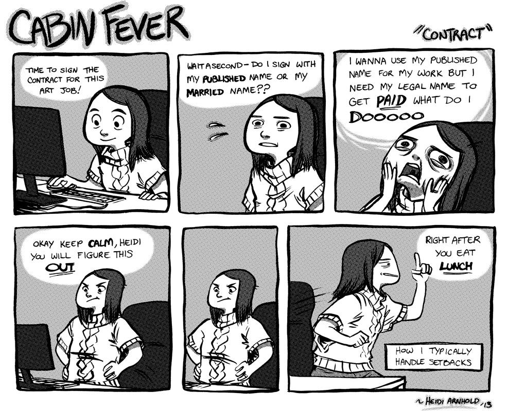 Cabin Fever Contract By Heidiarnhold On Deviantart