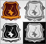 Deer Profile Shield by AquaDeus
