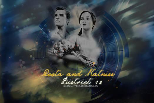 ~ Peeta and Katniss ~