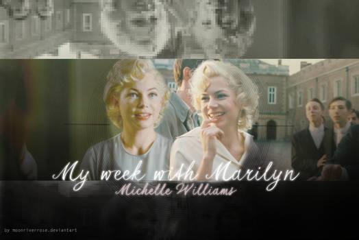 ~ My week with Marilyn ~