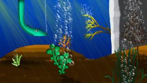 Under the ocean by PencilframeArt