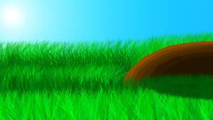 Grass by PencilframeArt