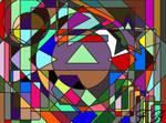 31 days of art, theme 2, Geometrical chaos by PencilframeArt