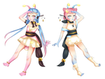 OCs::Shimmer and Twinkle