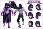 Zener Concept Art: Zener Layout by NRGComics