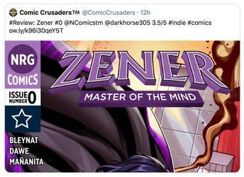 Zener issue 0 Review - Comic Crusaders