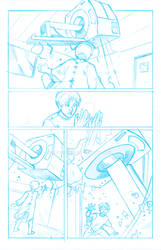 Win An Official Signed Comic Page of Zener!!!!