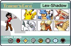 mis pokemones xB by lex-shadow