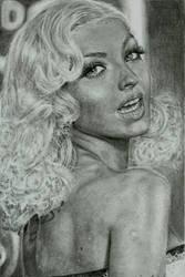 Christina Aguilera by Yagmurengin
