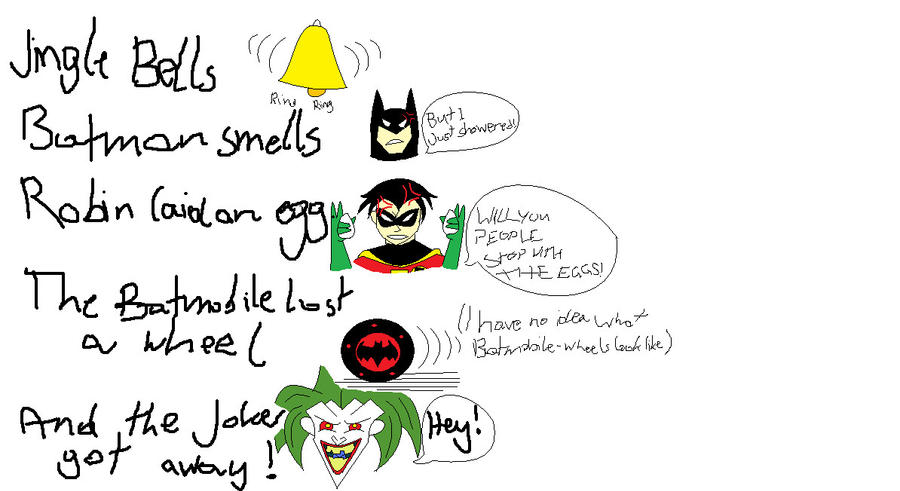 Jingle Bells Batman Smells Lyrics New Calendar Template Site