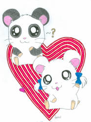 Panda and Bijou- Do I Dare? by SparkleC
