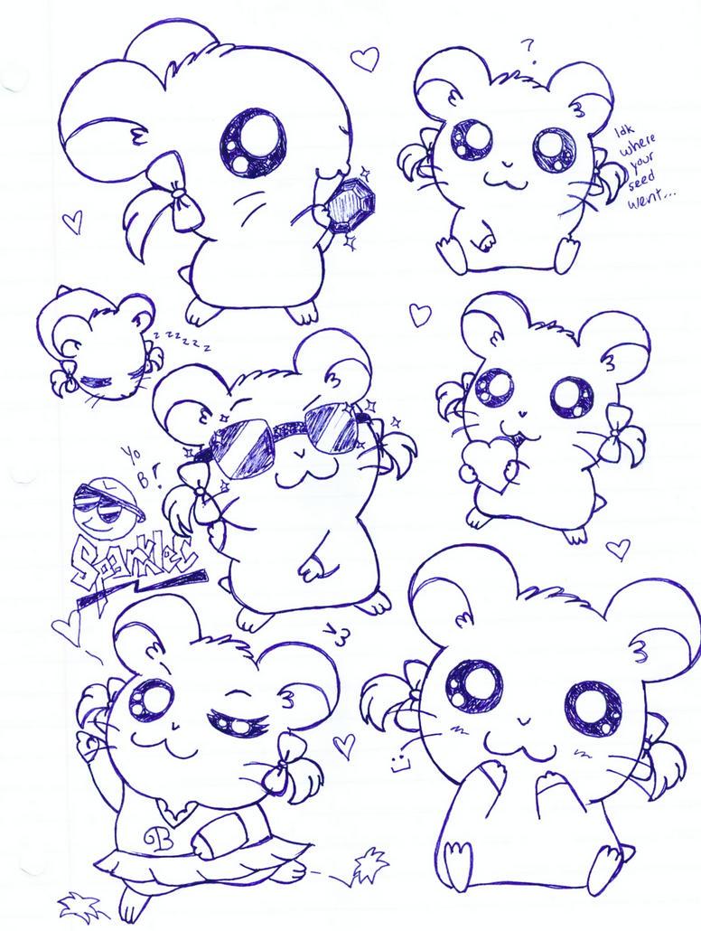 Bijou Doodles by SparkleC on DeviantArt