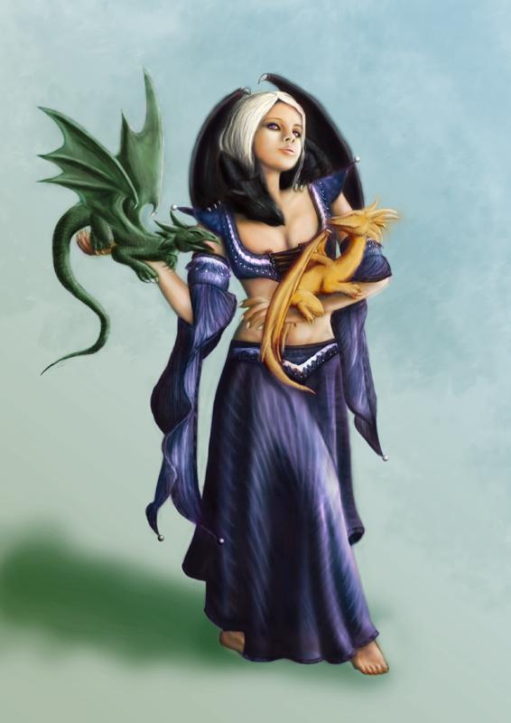 daenerys WIP p.16 by dragonero