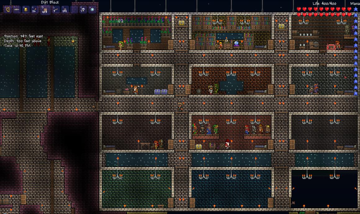 Terraria Potion Making Room
