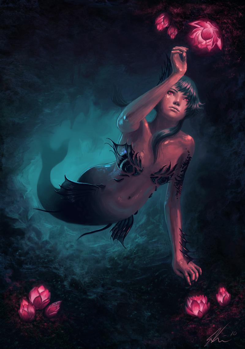 Bienvenidos al nuevo foro de apoyo a Noe #285 / 09.09.15 ~ 12.09.15 - Página 37 The_mermaid_by_viccolatte-d2oeo02