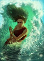 Avatar: Katara by Viccolatte