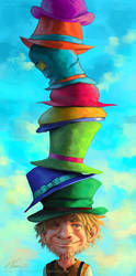 Tom the Hatter by Viccolatte