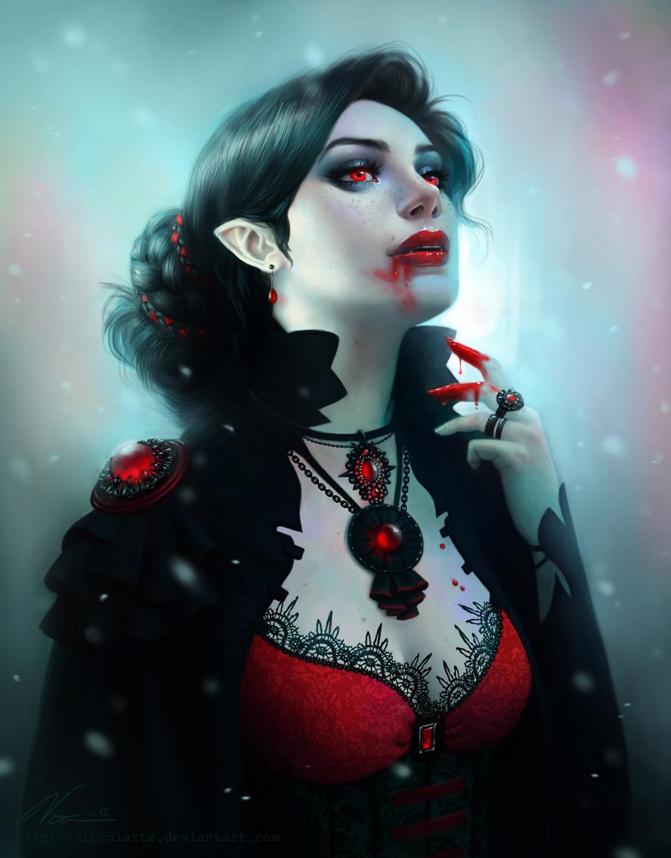 Naked black female vampires — img 12