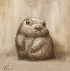 Dramatic Mole by Viccolatte