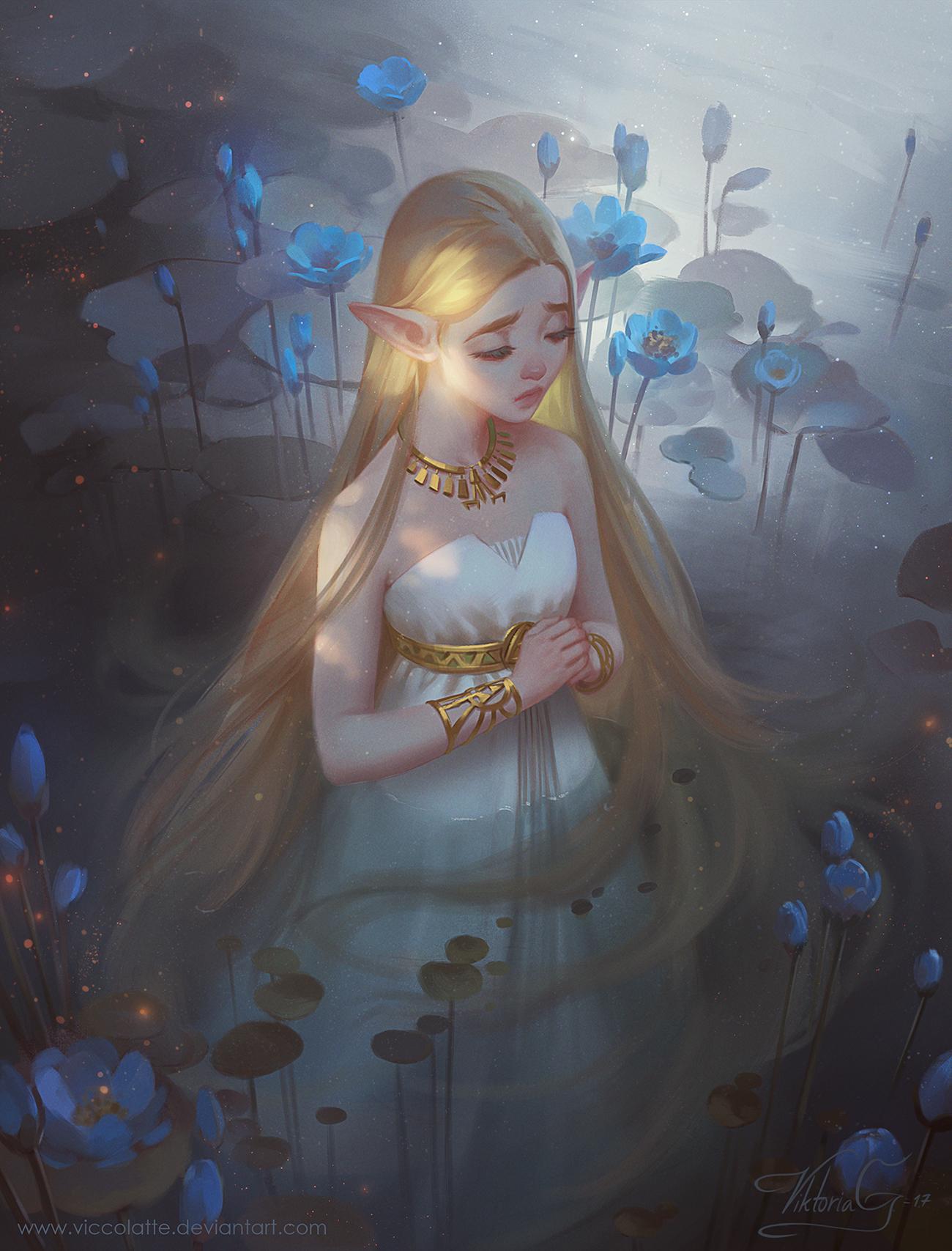 Zelda - Breath of the Wild No.01 by Viccolatte