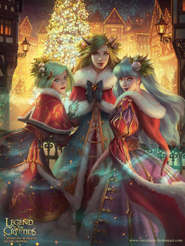 Legend of the Cryptids - Mistletoe Eve