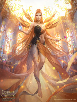 Legend of the Cryptids - Black Friday Goddess Adv