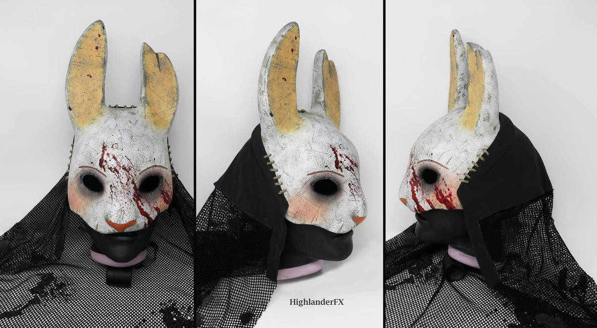 Huntress Mask with Veil by HighlanderFX