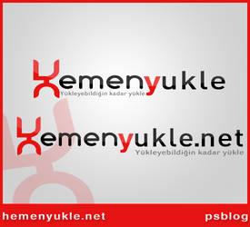 hemen yukle logo design by orhansarica