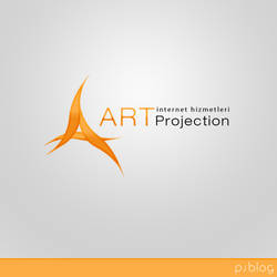 art projection logo design by orhansarica