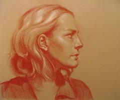 Female Profile Portrait by MasterpieceLost