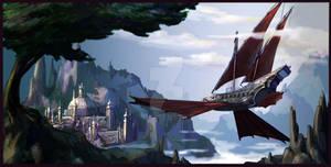 Ornithopter Pirate Ship