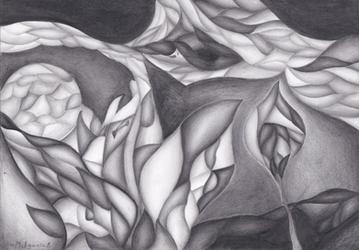 Hidden flower by Milyusia