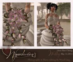 shaz wedding bride by Wyndaveres