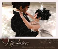 shaz wedding2 by Wyndaveres
