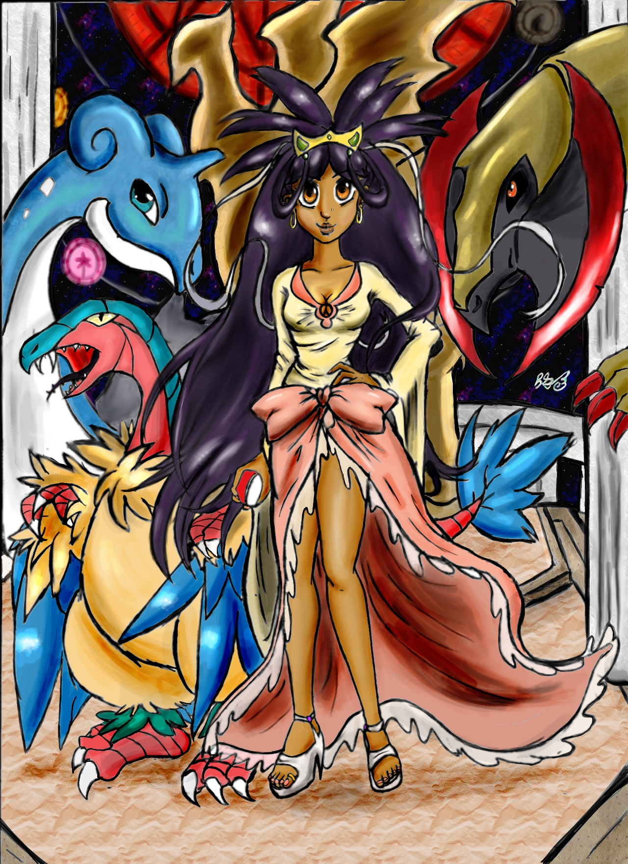 Pokemon Iris Champion Images | Pokemon Images