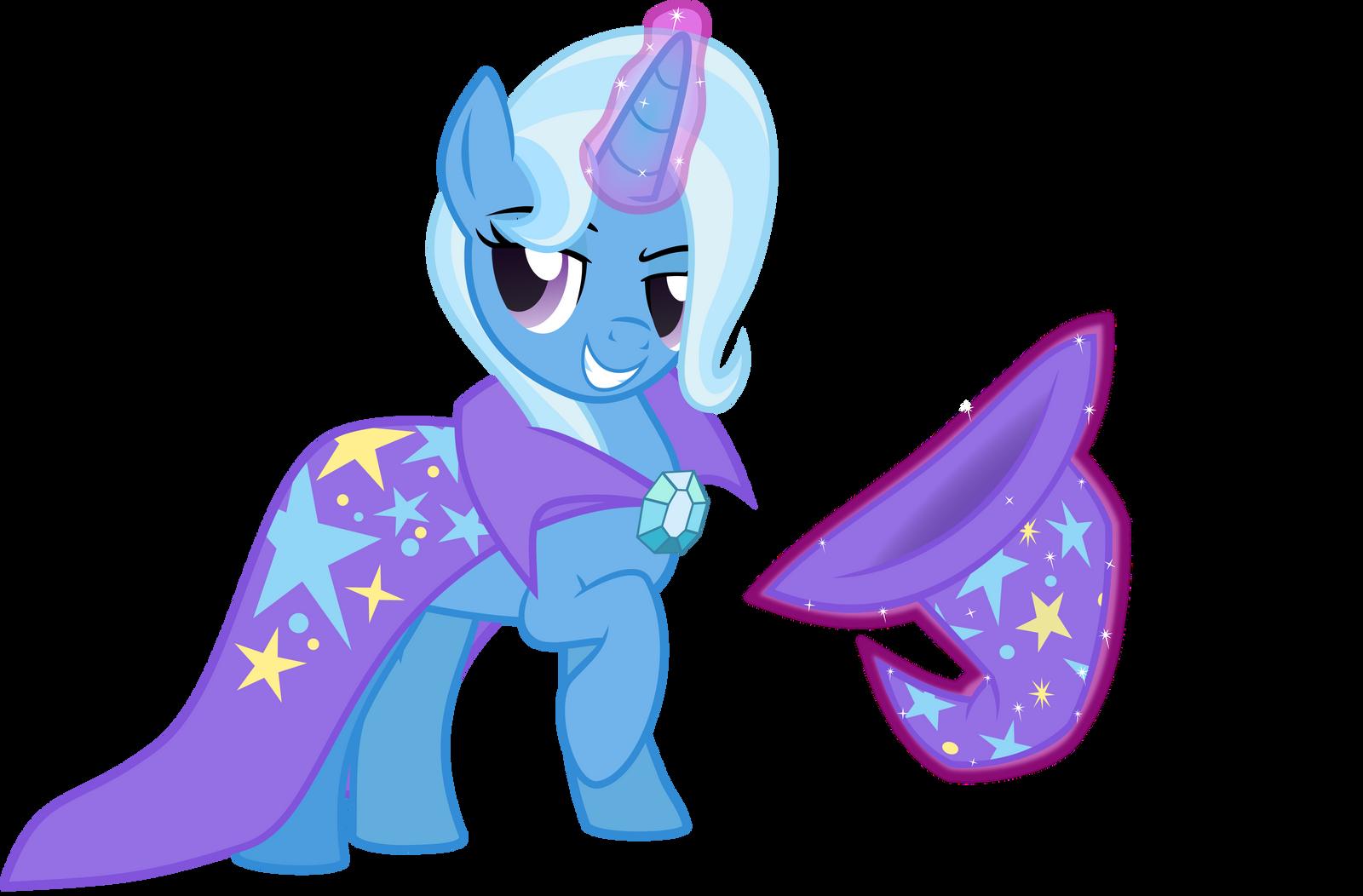My little pony trixie vector - photo#19