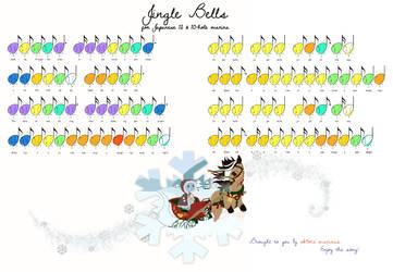 Okame Tabsheets: Jingle Bells by RavenFeatherAngel