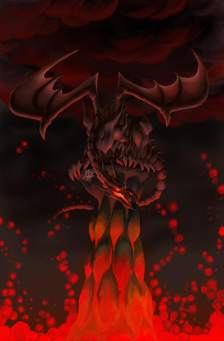 Red-Eyes Black Dragon by EvilNightDragon on DeviantArt