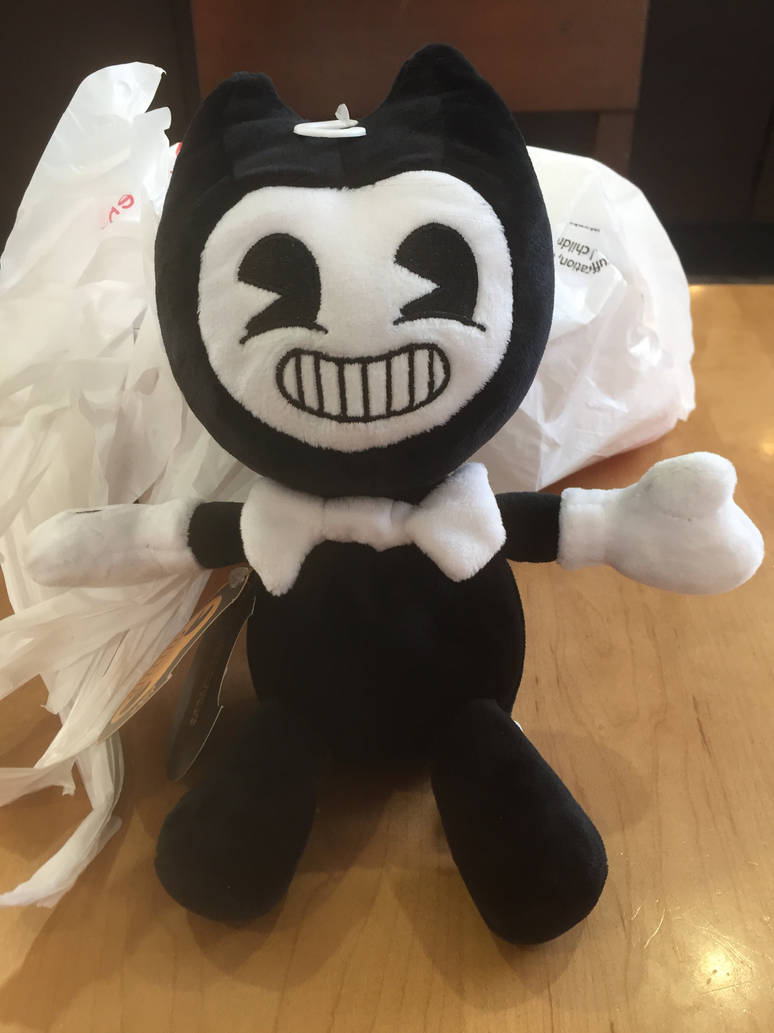 I get Bendy Plush!!! XD  by knockoutandsonic