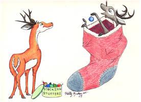 Reindeer 2009 by Moundfreek