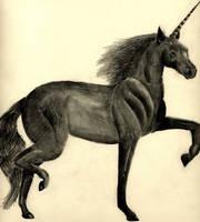 Black Unicorn by Moundfreek