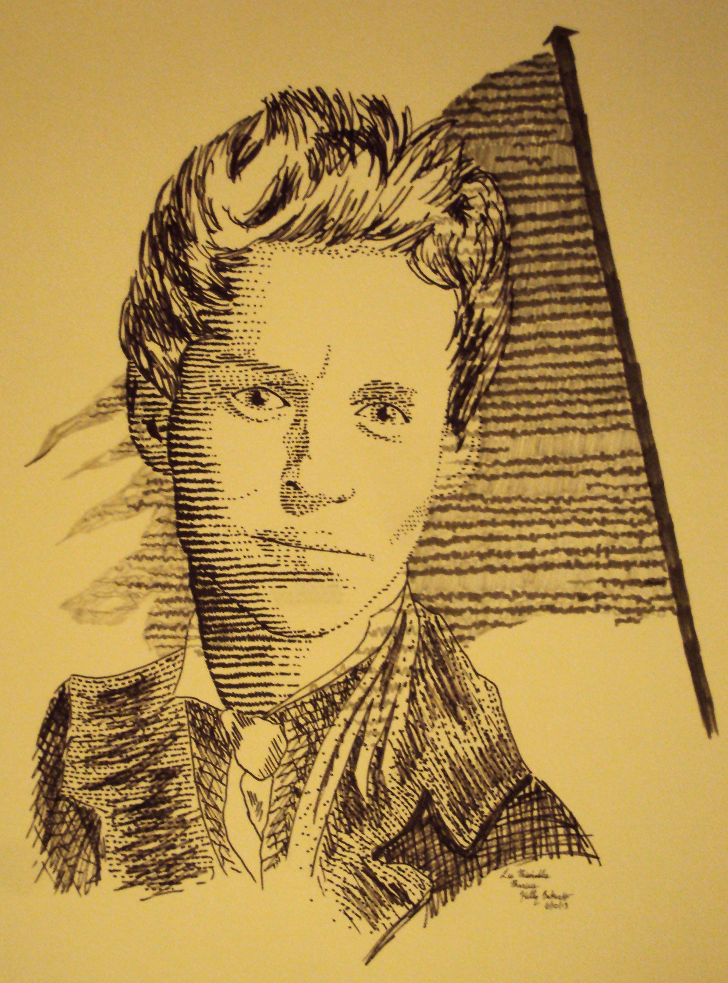 Les Miserables Logo -- Marius