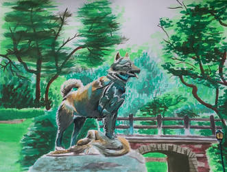Balto of Central Park by Moundfreek