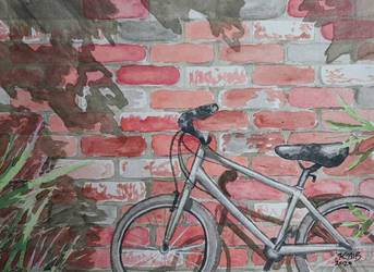 Bicycle Watercolor