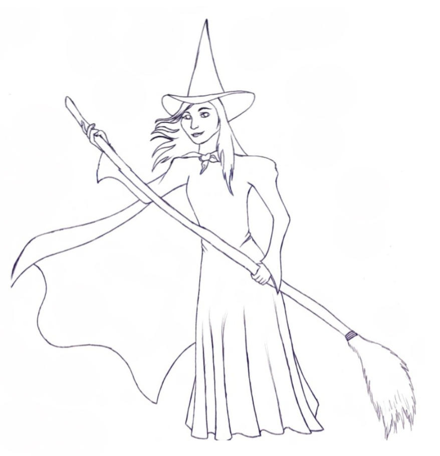 usain bolt coloring pages - elphaba coloring pages 89335 newsmov