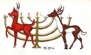 Reindeer 2006 by Moundfreek