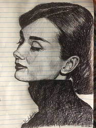 Audrey Hepburn by spiesprincess