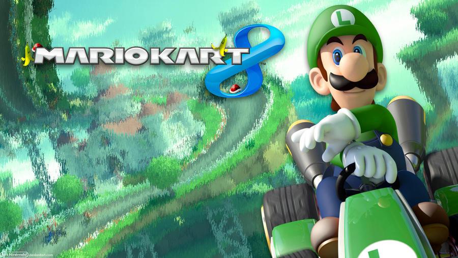 Wiiu Com Game : Mario kart luigi wide by alenintendo on deviantart