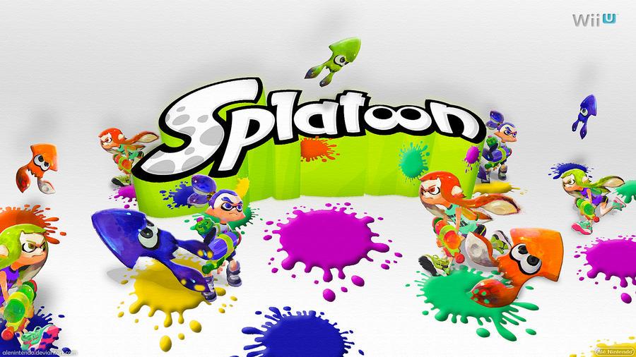 Wiiu Com Game : Splatoon wide by alenintendo on deviantart